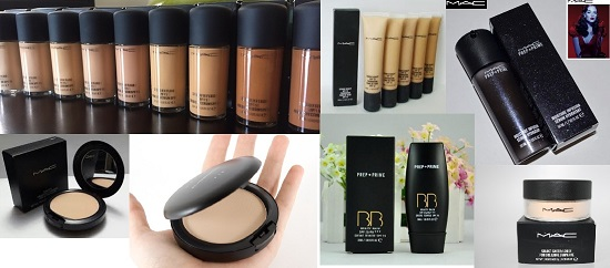 Lots Makeup MAC 100 Pcs